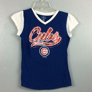 Genuine Merchandise Girls Cotton Cubs TShirt 10/12